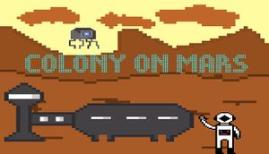Colony on Mars cover