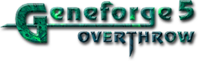 Geneforge 5: Overthrow cover