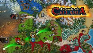 Legends of Callasia cover