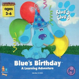 Blue's Birthday Adventure cover