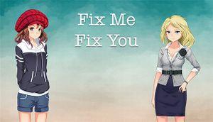 Fix Me Fix You cover