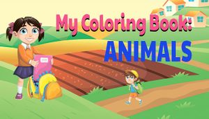 My Coloring Book: Animals cover