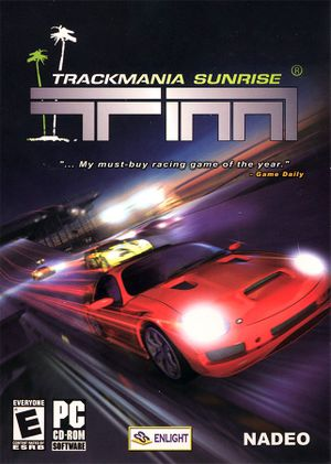 TrackMania Sunrise cover