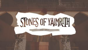 Stones of Yalmrith cover