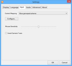 Launcher general control settings.