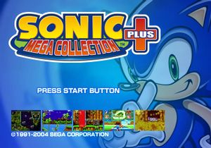 Sonic Mega Collection Plus cover