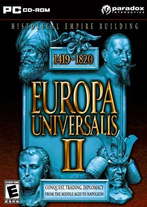 Europa Universalis II cover