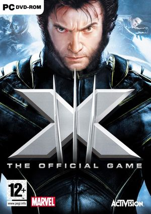 X-Men: The Official Game cover