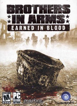 Brothers in Arms: Earned in Blood cover