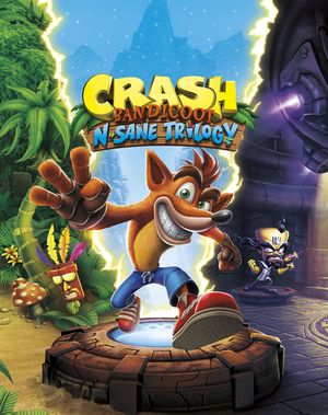 Crash Bandicoot N. Sane Trilogy cover