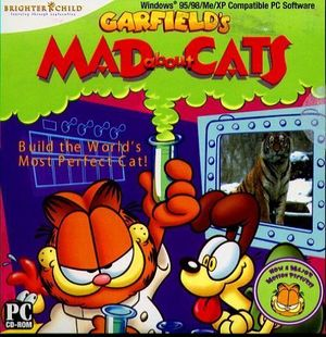 Garfield's Mad About Cats cover