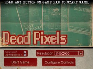 Game's launcher.