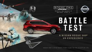 Battle Test: A Nissan Rogue 360° VR Experience cover