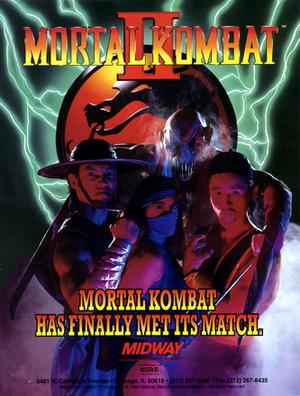 Mortal Kombat II cover