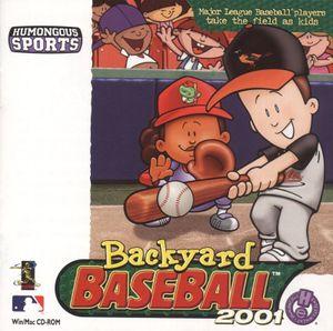 Backyard Baseball 2001 cover