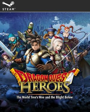 Dragon Quest Heroes: The World Tree's Woe and the Blight Below cover