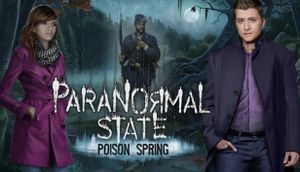 Paranormal State: Poison Spring cover