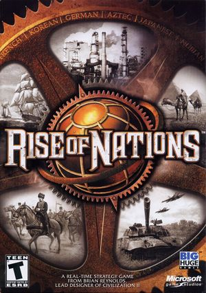 Rise of Nations cover
