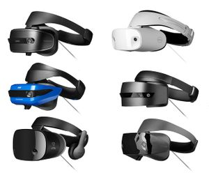Windows Mixed Reality Immersive Headsets