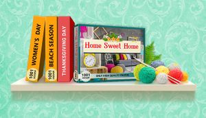 1001 Jigsaw. Home Sweet Home cover