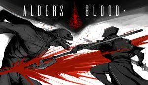 Alder's Blood cover