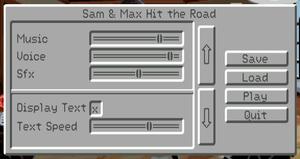 Audio settings (CD-ROM release).