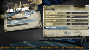 In-game advanced video settings (1/2).