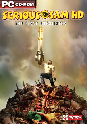 Serious Sam HD: The First Encounter cover