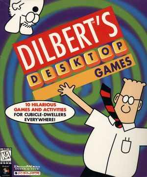 Dilbert's Desktop Games cover