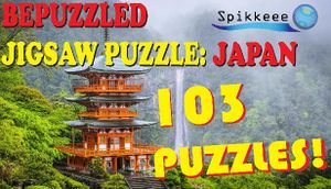 Bepuzzled Jigsaw Puzzle: Japan cover
