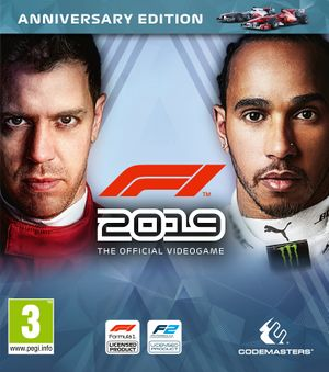 F1 2019 cover