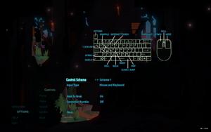In-game keyboard settings