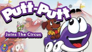 Putt-Putt Joins the Circus cover