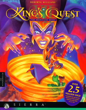 King's Quest VII: The Princeless Bride cover