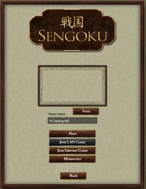 Multiplayer menu.