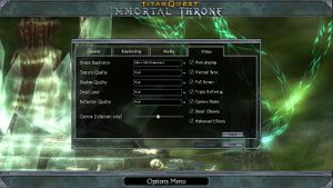 Immortal Throne settings.