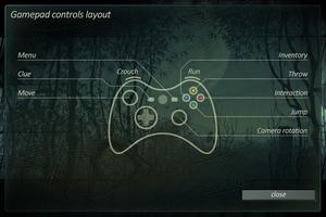 Gamepad controls layout.