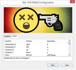 Game Launcher Input Settings