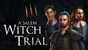 A Salem Witch Trial - Murder Mystery cover