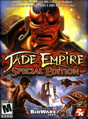 Jade Empire: Special Edition - PCGamingWiki PCGW - bugs, fixes
