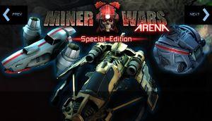 Miner Wars Arena cover