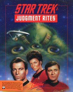 Star Trek: Judgment Rites cover
