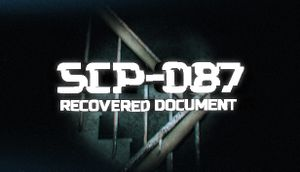 SCP-087: Recovered Document - PCGamingWiki PCGW - bugs