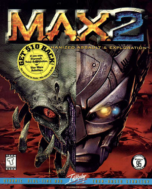 M.A.X.: Mechanized Assault and Exploration 2 cover