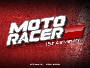 Moto Racer 15th Anniversary cover