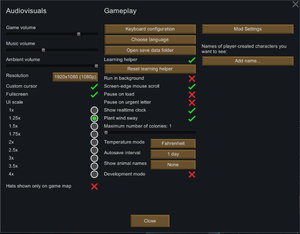RimWorld - PCGamingWiki PCGW - bugs, fixes, crashes, mods, guides