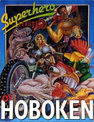 Superhero League of Hoboken cover