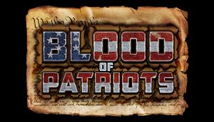 Blood of Patriots cover