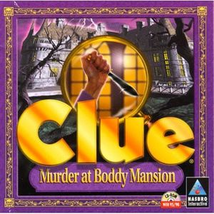 Clue: Murder at Boddy Mansion cover