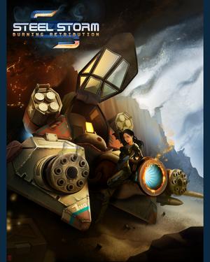 Steel Storm: Burning Retribution cover